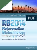Rejuvenation Biotechnology 2014 Full Program