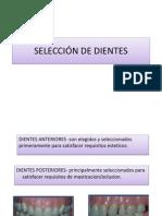 SELECCI+ôN DE DIENTES