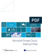 Private Cloud Making It Real