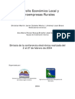 Desarrollo Economico Local, Rural