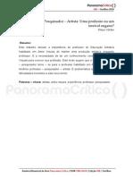 Professor Pesquisador Artista_Felipe Caldas