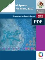 Estadísticas Del Agua en La Cuenca Del Río Balsas, 2010