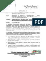 Circular 09 Organiz. Bienes2010