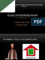 Social Entrepreneurship (pptx)