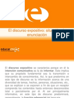 45311 179855 El Discurso Expositivo