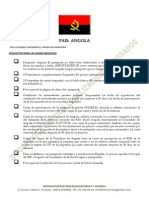 Angola Requisitos Visado