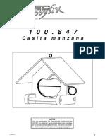 Casita Manzana Para Pájaros - 100847bm