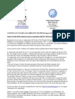 Hockey Ghiaccio Bologna Comunicato Stampa 12dic09 v2