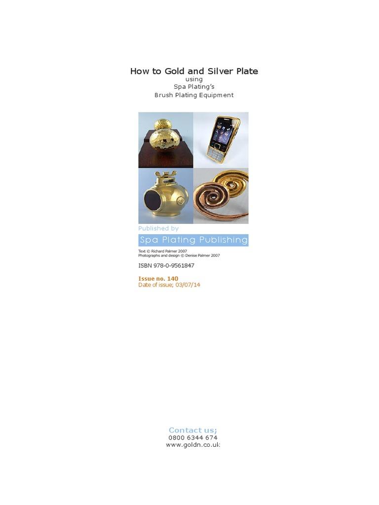 Spa Plating Manual | Silver | Alloy
