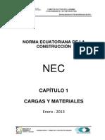 Nec Cap1 Cargas y Materiales Final