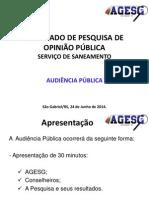 Pesquisa de Opinião Pública (1)