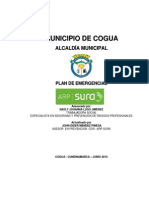 Plan de Emergencias Municipio de COGUA 2009 1