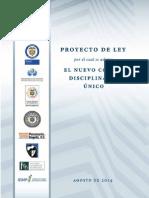 Nuevo Codigo Disciplinario Unico 2014