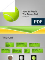 tennis ball presentation