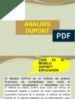 Análisis Dupont Cepeban