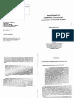 """Achilli, Elena (2005), """"Investigar en antropología social. Los desafíos de transmitir un oficio"""", Rosario, Laborde Editor, Cap. 2, pp. 29-32"""