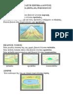 Ένας Χάρτης Μας Πληροφορεί (α) Μελέτη Περιβάλλοντος Γ' Δημ.
