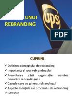UPS Rebranding