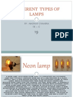 differenttypesoflamps-140107090155-phpapp01