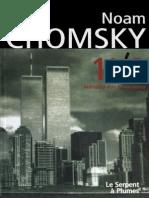 11 de Setembro - Noam Chomsky