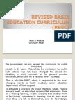 Revised Basic Education Curriculum