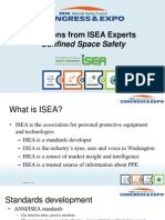 2014 ISEA Confined Space Presentation