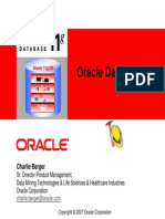 [0] Datamining - Oracle Data Mining 11G - Oracle in-Database Analytics
