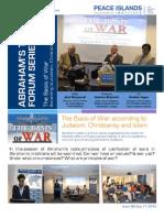 Abrahams Table  The Basis of War