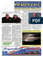 The Village Reporter - September 10th, 2014