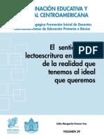 Ceec Sica - Coleccion Pedagogica 39 - El Sentido de La Lectoescritura en El Aula