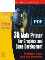 3D Math Primer for Graphics and Game Development - Dunn, Parberry - Wordware (2002)