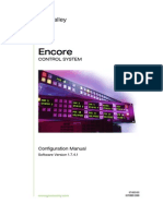 Grass Valley Encore Control System