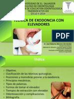 Tecnica de Exodoncia Con Elevadores01