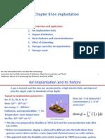 Chapter 8 Ion Implantation _ I (3)