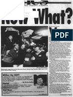 Now What? | Vermont Times | Nov. 5, 1992