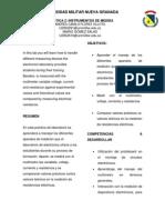 Informe 2 - Instrumentos de Medida