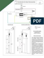 Conexión de Tubos Fluorescentes