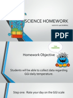 sciene homework ggi data collection