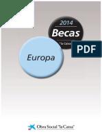 Bases Becas 2014 Europa Es