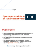 Spectrophotometrie Cours