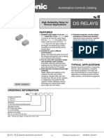 Ds1e-S-dc5v Relay Ag231944 Data Sheet