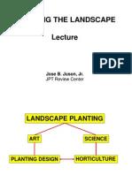 Landscape Lecture