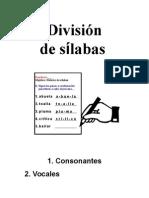 Division de Silabas Apuntes