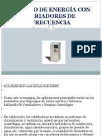 AHORRO DE ENERGÍA CON VARIADORES DE FRECUENCIA.pptx