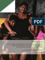 Estudo sobre metodologias de trabalho social com famílias no âmbito do Serviço de Atenção Integral à Família  PAIF_2010
