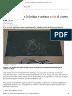 Las Claves Para Detectar y Actuar Ante El Acoso Escolar - ABC