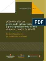 Astray Coloma - Como Iniciar Un Porceso de Intervención y Participación Comunitaria