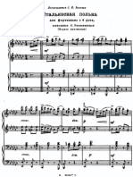 Rachmaninov - Polka Italienne