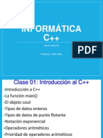 Clase 01 C++ 2014-2