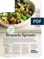 Dr. Oz Brussels Sprouts